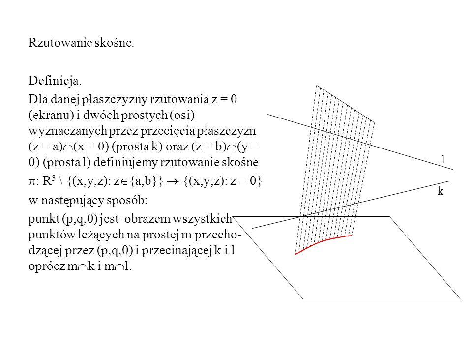 : R3 \ {(x,y,z): z{a,b}}  {(x,y,z): z = 0} w następujący sposób: