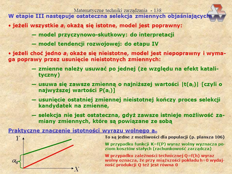 Matematyczne techniki zarządzania - 138
