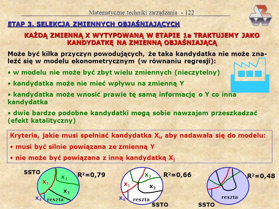  Matematyczne techniki zarządzania - 122