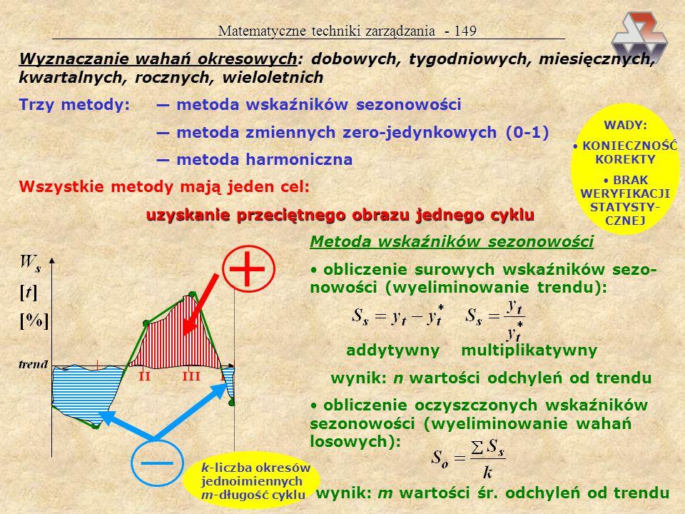 + — Matematyczne techniki zarządzania - 149