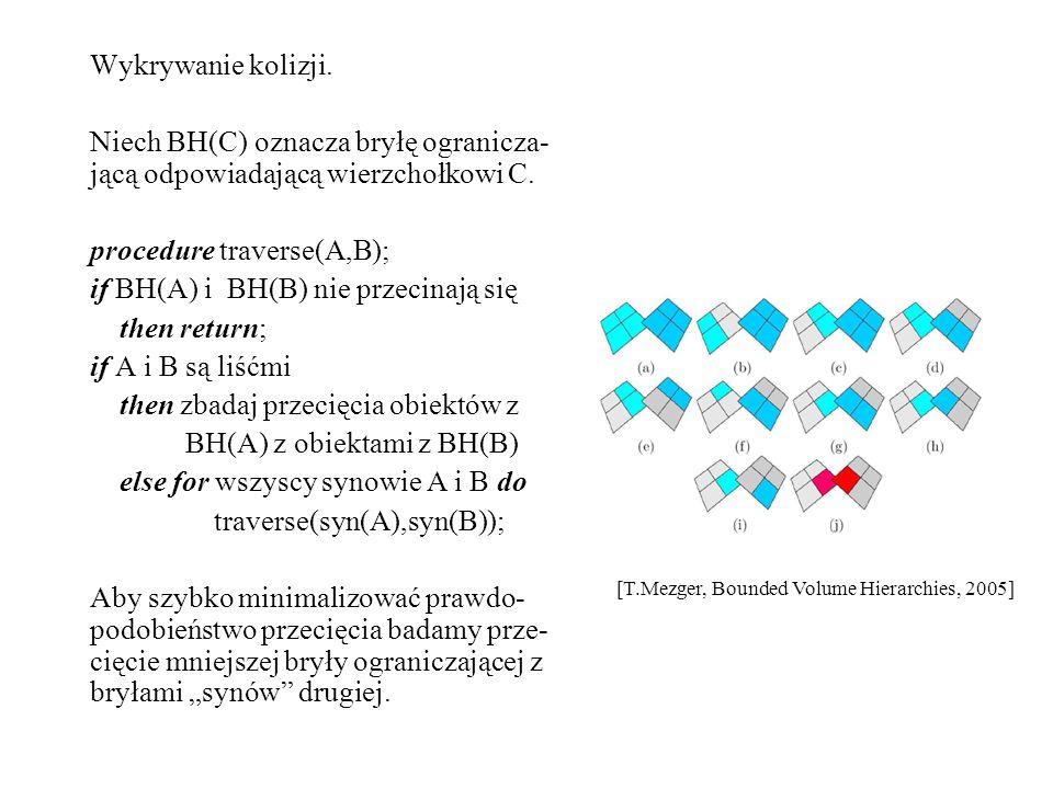 procedure traverse(A,B); if BH(A) i BH(B) nie przecinają się