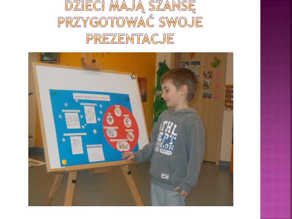 Dzieci mają szansę przygotować swoje prezentacje