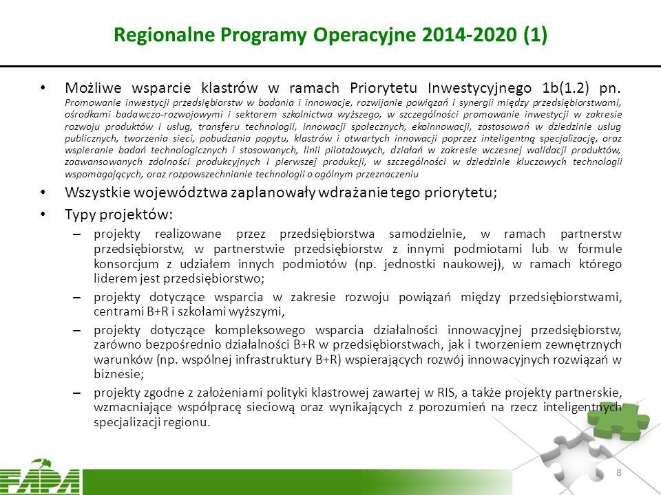 Regionalne Programy Operacyjne 2014-2020 (1)