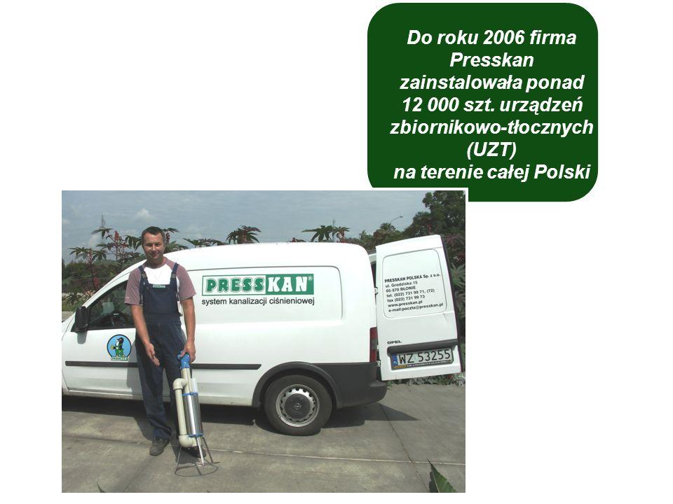 Do roku 2006 firma Presskan zainstalowała ponad 12 000 szt