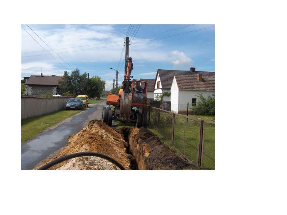 System kanalizacji PRESSKAN w budowie