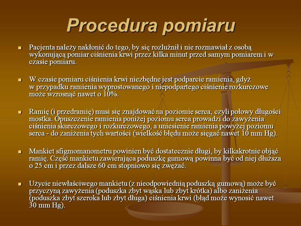 Procedura pomiaru