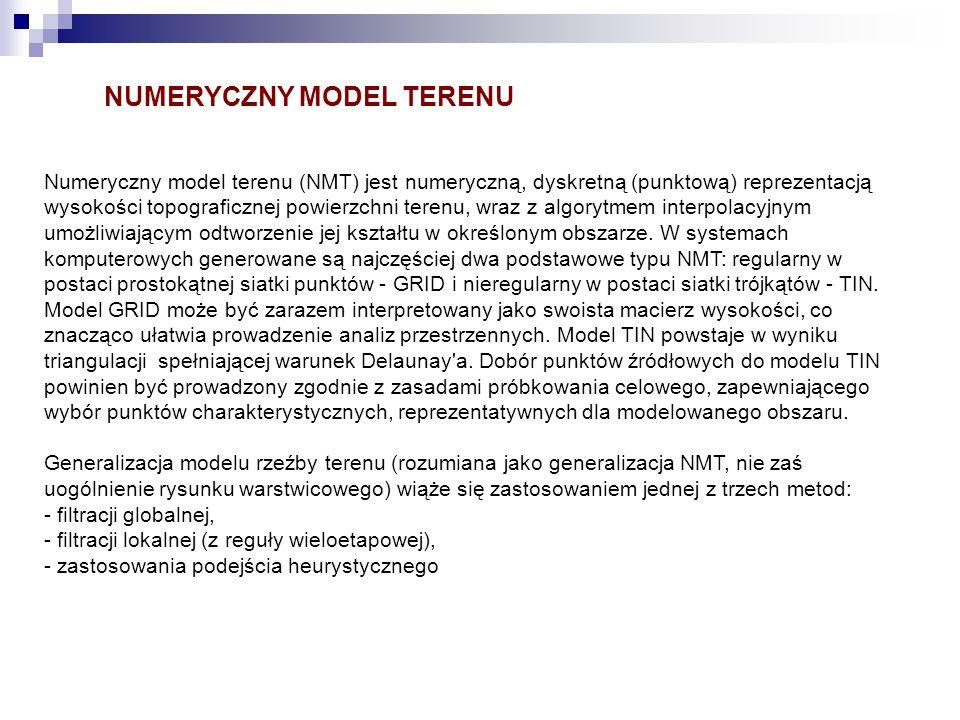 NUMERYCZNY MODEL TERENU