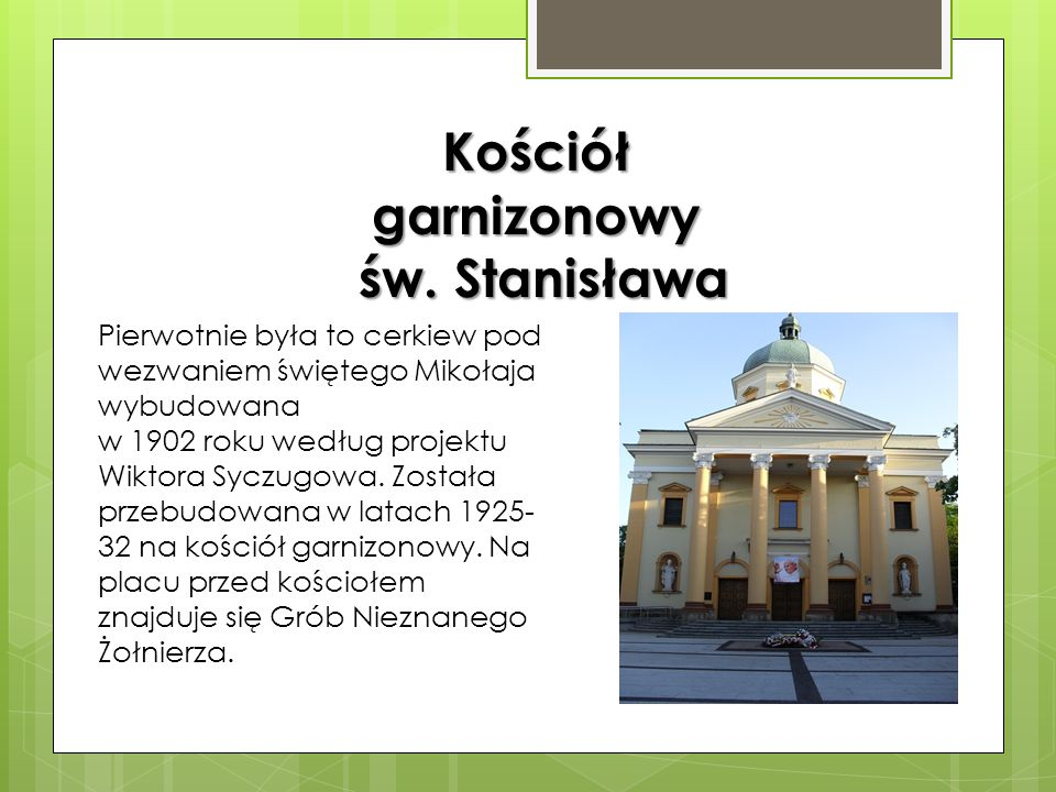 Kościół garnizonowy św. Stanisława