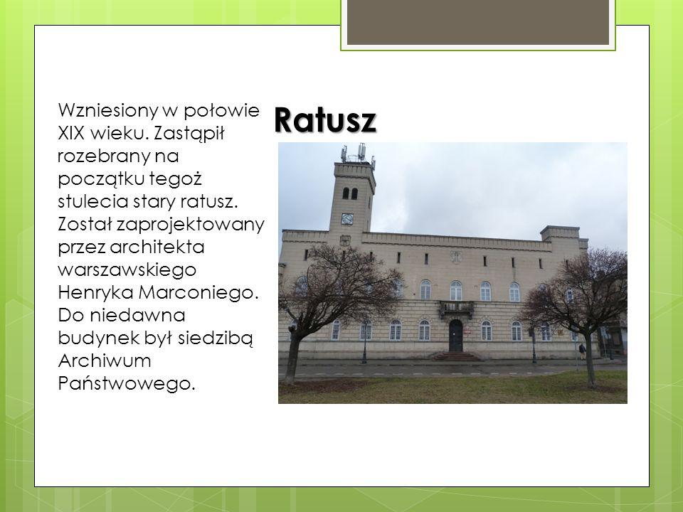 Wzniesiony w połowie XIX wieku
