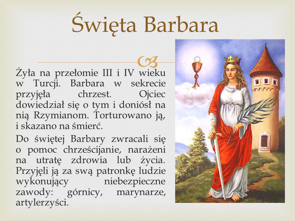 Święta Barbara