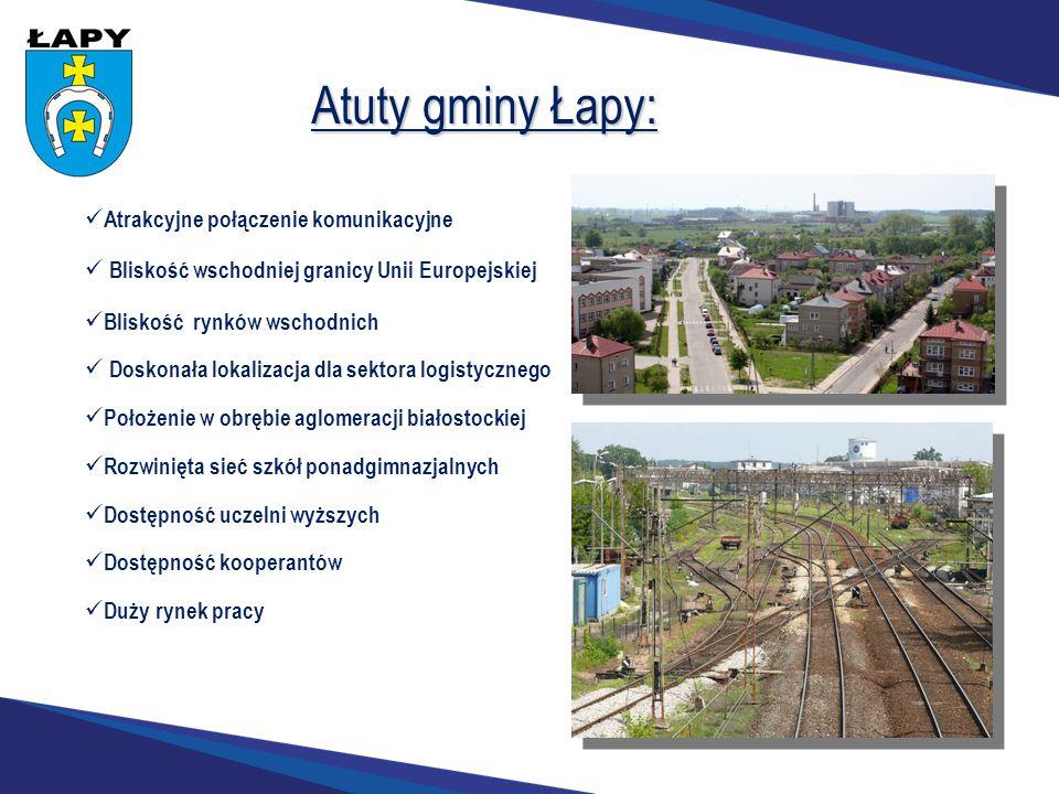 Atuty gminy Łapy: Atrakcyjne połączenie komunikacyjne