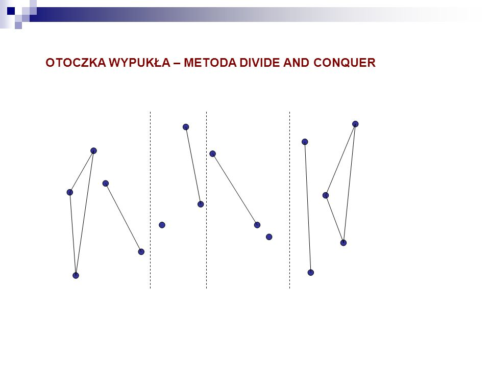 OTOCZKA WYPUKŁA – METODA DIVIDE AND CONQUER