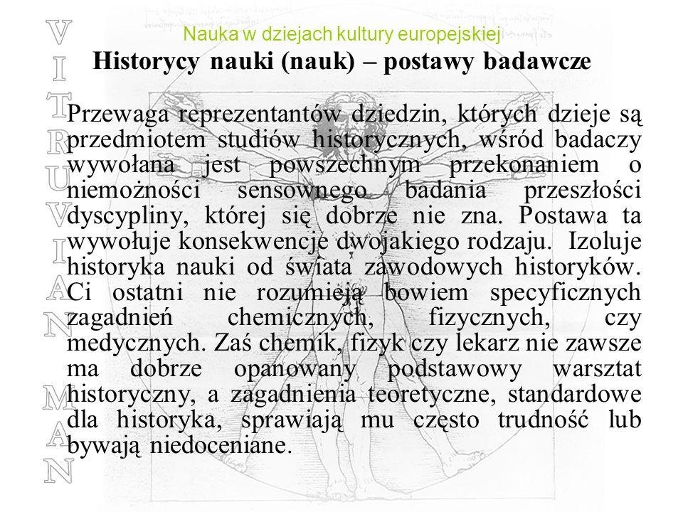 Nauka w dziejach kultury europejskiej