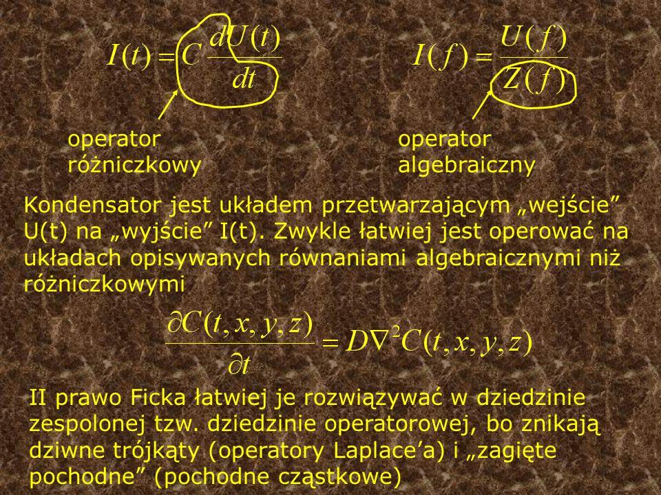 operator różniczkowy operator algebraiczny.