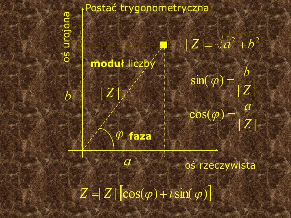 Postać trygonometryczna