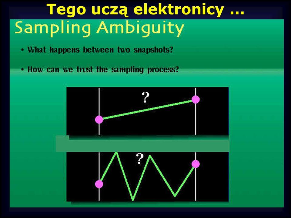 Tego uczą elektronicy ...
