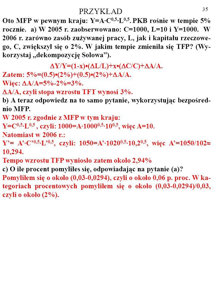 Y/Y=(1-x)•(L/L)+x•(C/C)+A/A.