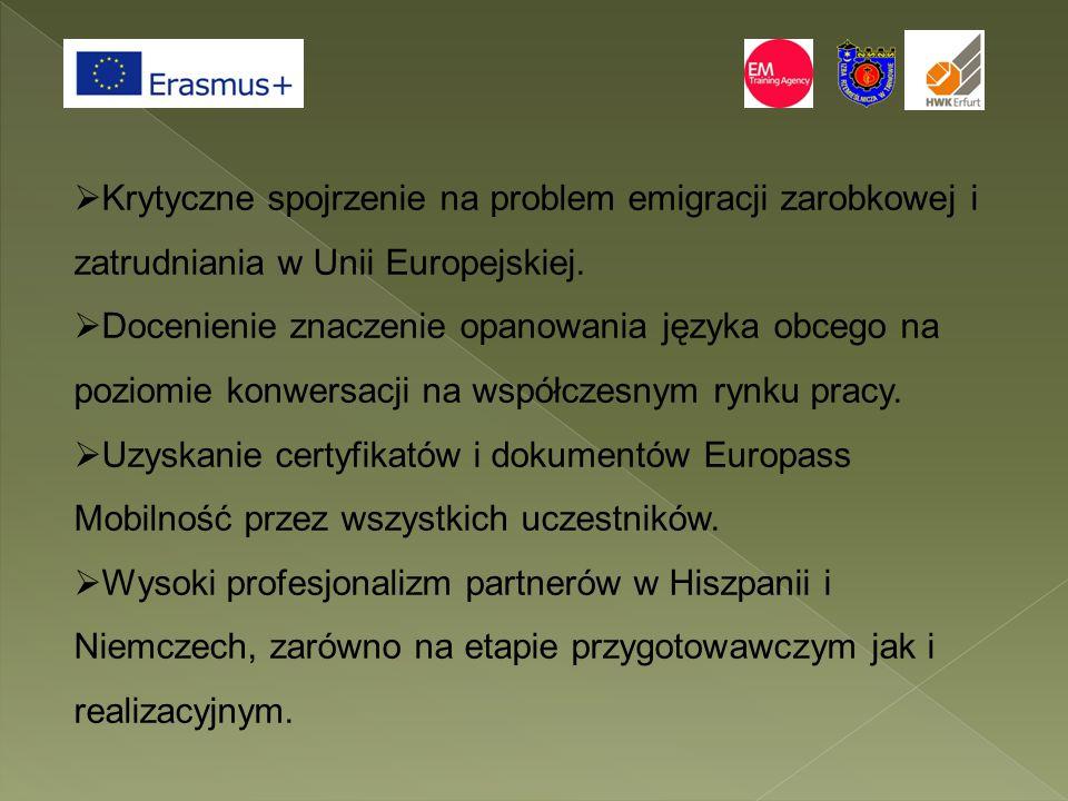 Krytyczne spojrzenie na problem emigracji zarobkowej i zatrudniania w Unii Europejskiej.