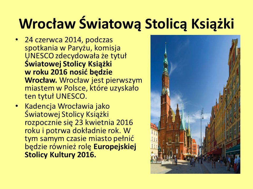 Wrocław Światową Stolicą Książki
