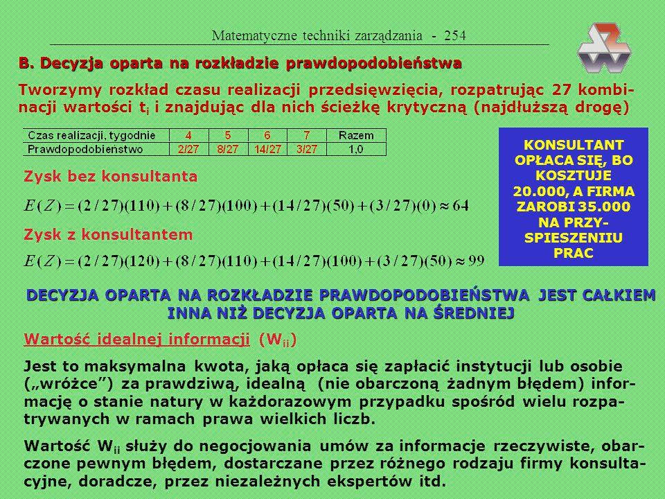 Matematyczne techniki zarządzania - 254