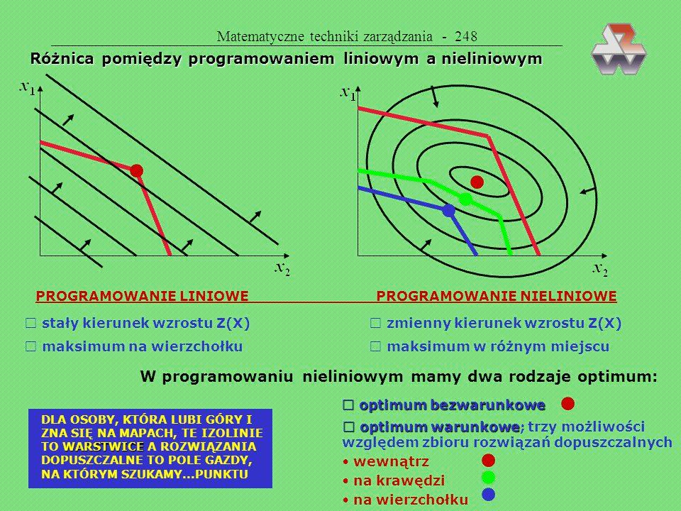 Matematyczne techniki zarządzania - 248