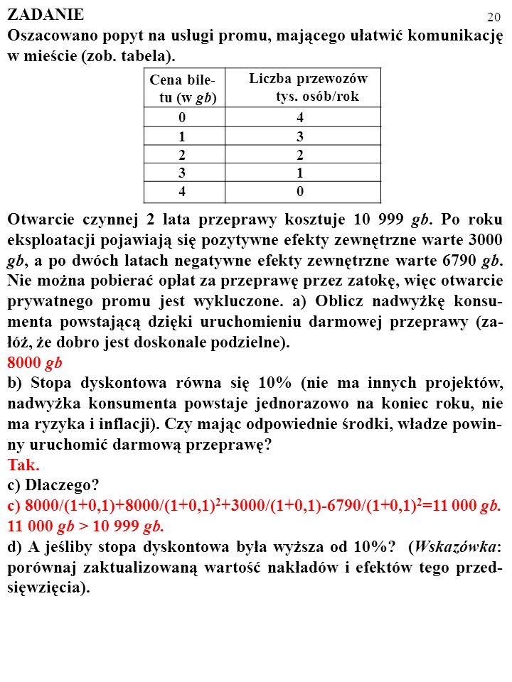 c) 8000/(1+0,1)+8000/(1+0,1)2+3000/(1+0,1)-6790/(1+0,1)2=11 000 gb.