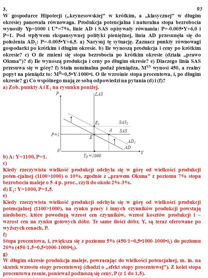 a) Zob. punkty A i E1 na rysunku poniżej.
