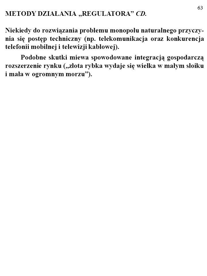 """METODY DZIAŁANIA """"REGULATORA CD."""