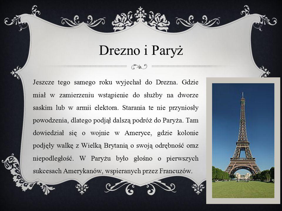 Drezno i Paryż