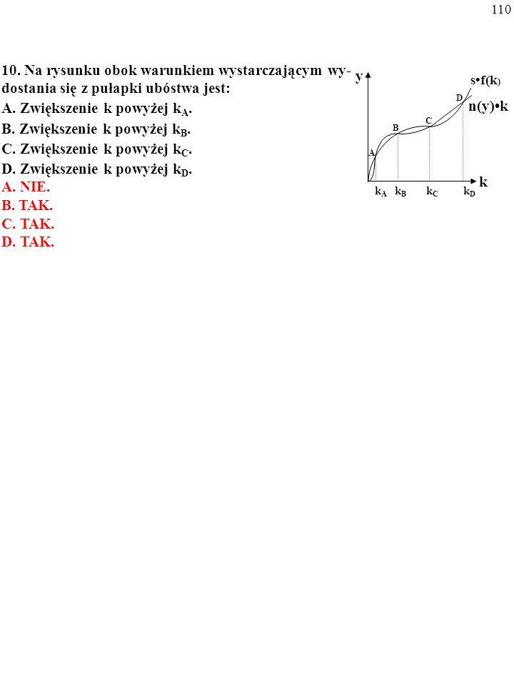 A. Zwiększenie k powyżej kA. B. Zwiększenie k powyżej kB.