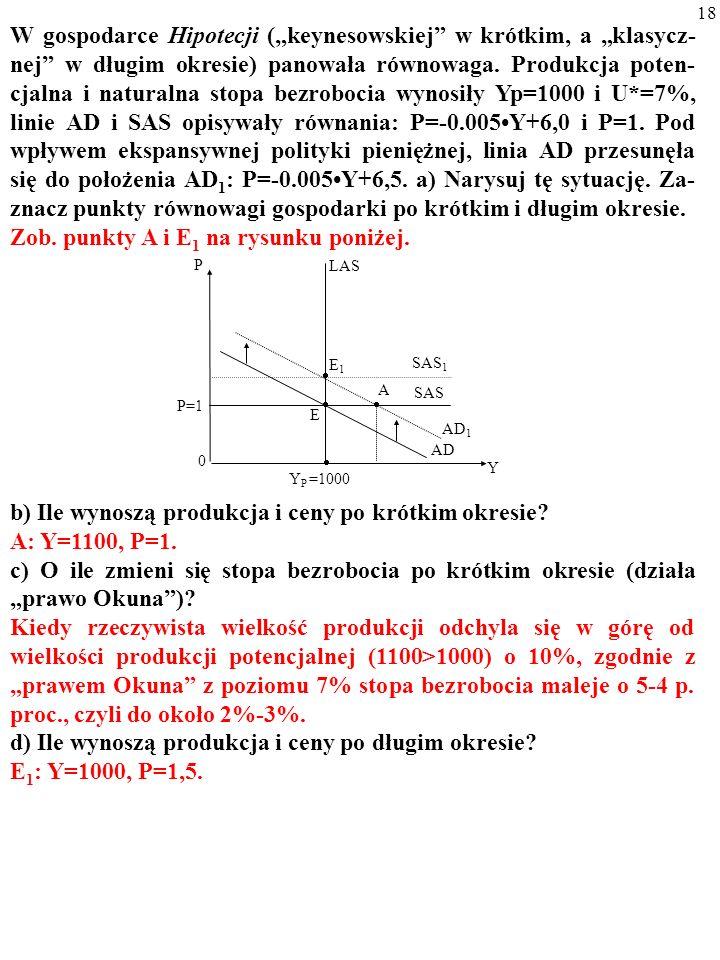 Zob. punkty A i E1 na rysunku poniżej.