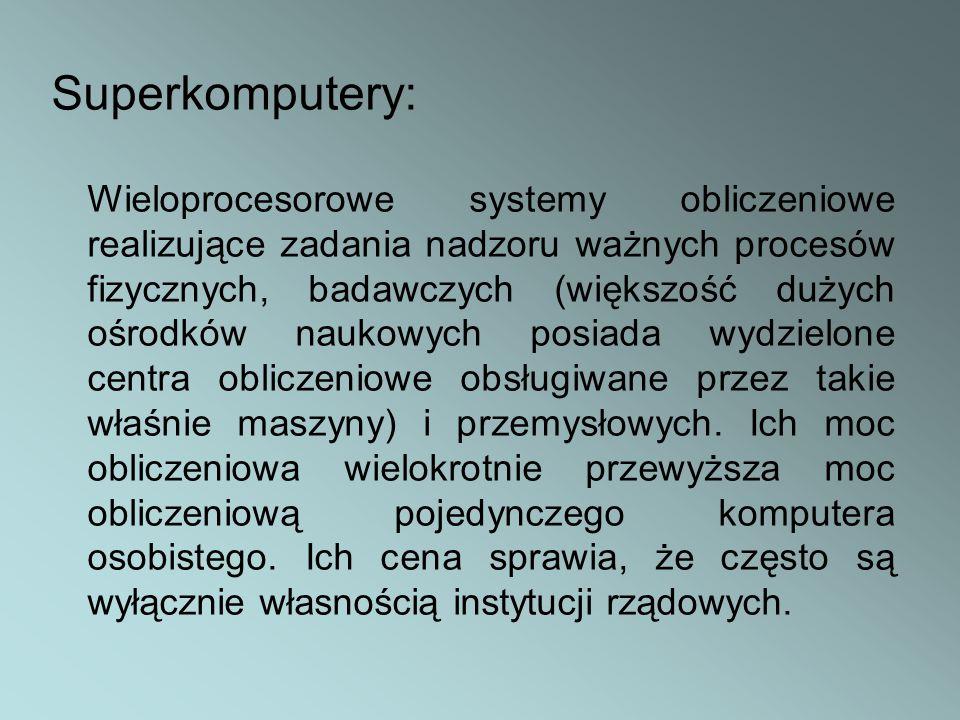 Superkomputery:
