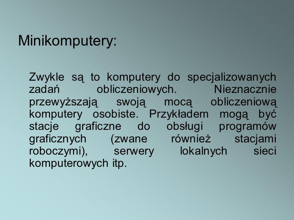 Minikomputery: