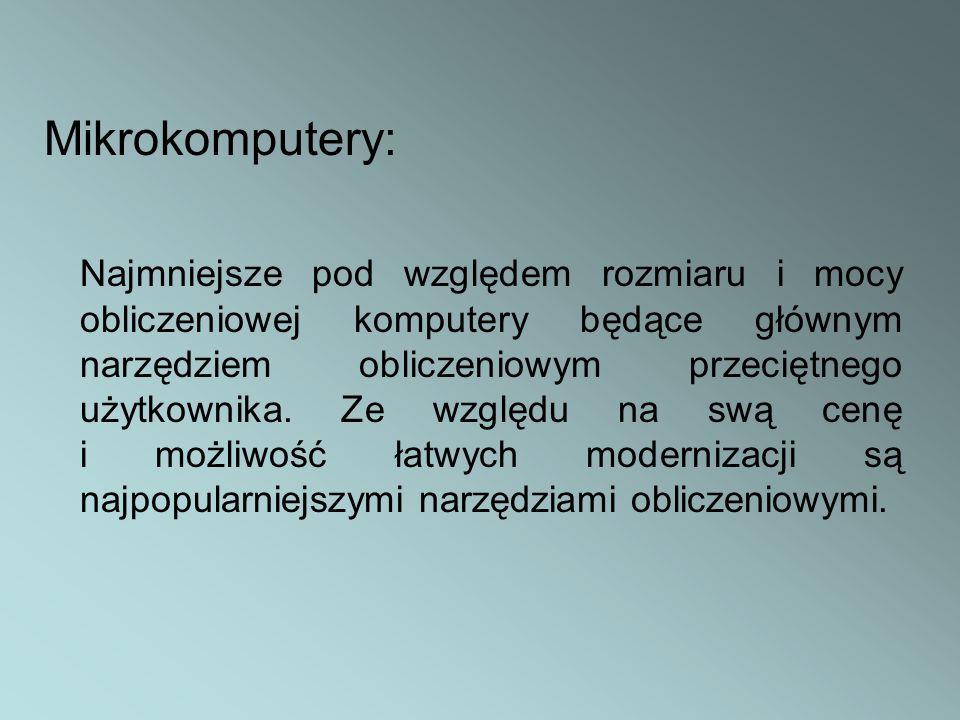 Mikrokomputery: