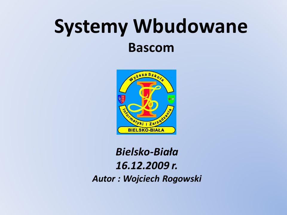 Systemy Wbudowane Bascom