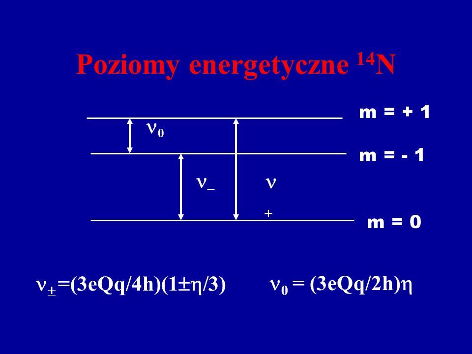 Poziomy energetyczne 14N