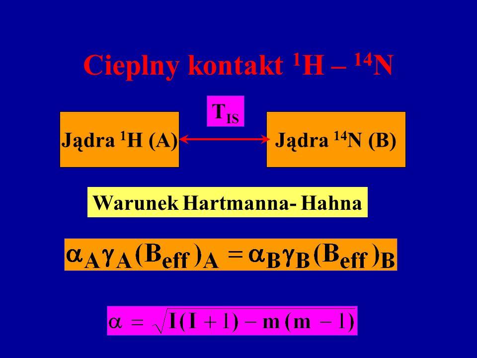 Warunek Hartmanna- Hahna