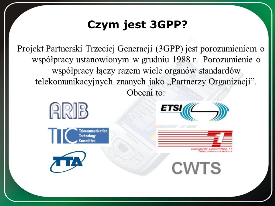 Czym jest 3GPP