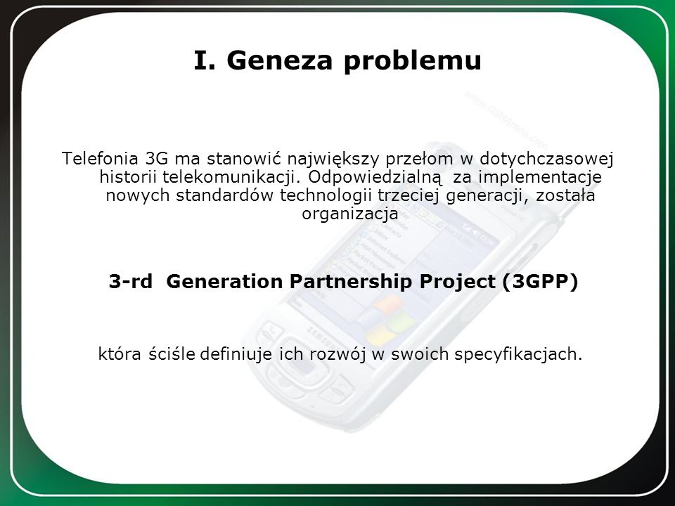 3-rd Generation Partnership Project (3GPP)