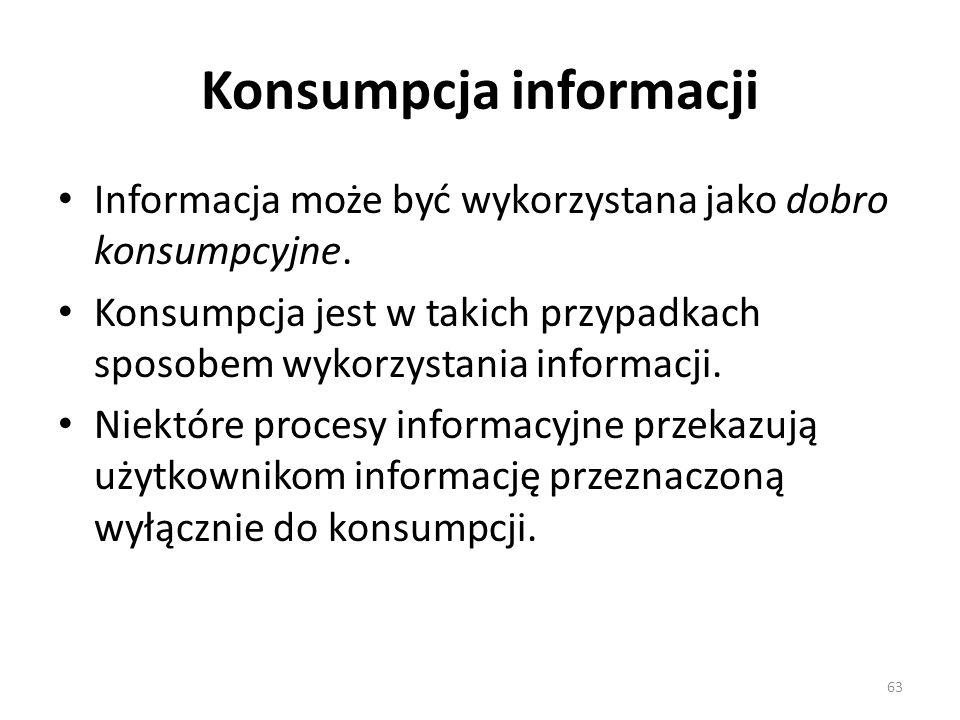 Konsumpcja informacji