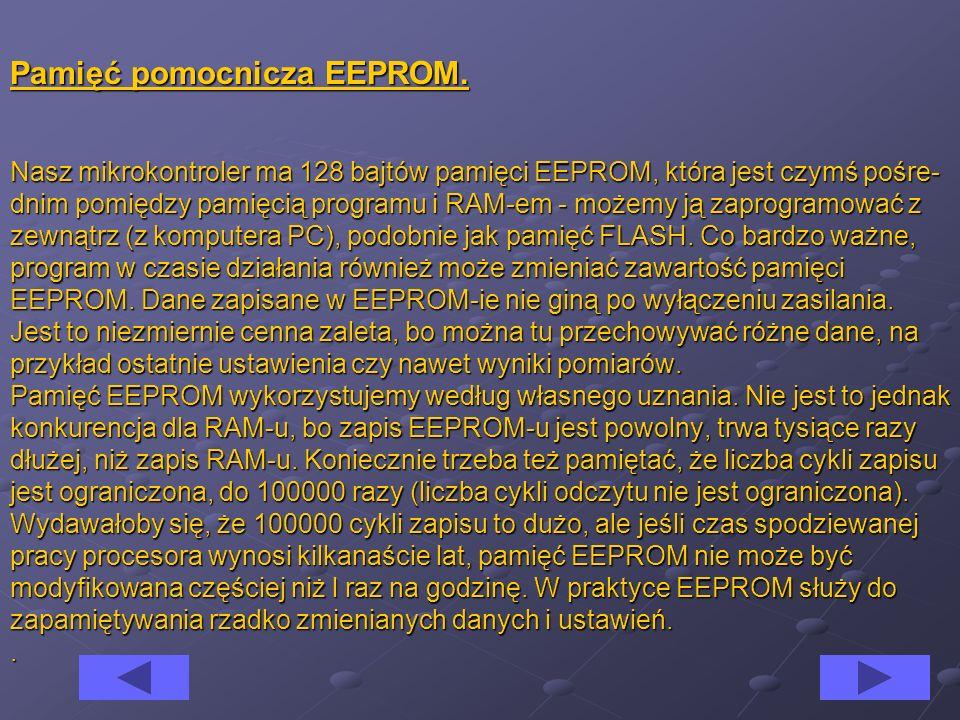 Pamięć pomocnicza EEPROM