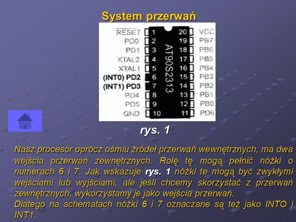 System przerwań rys. 1.