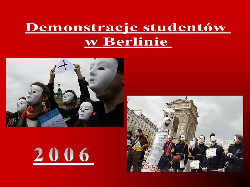 Demonstracje studentów