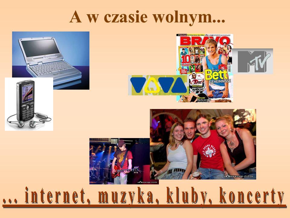 ... internet, muzyka, kluby, koncerty