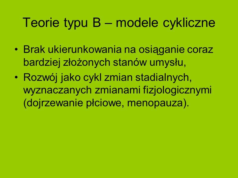 Teorie typu B – modele cykliczne