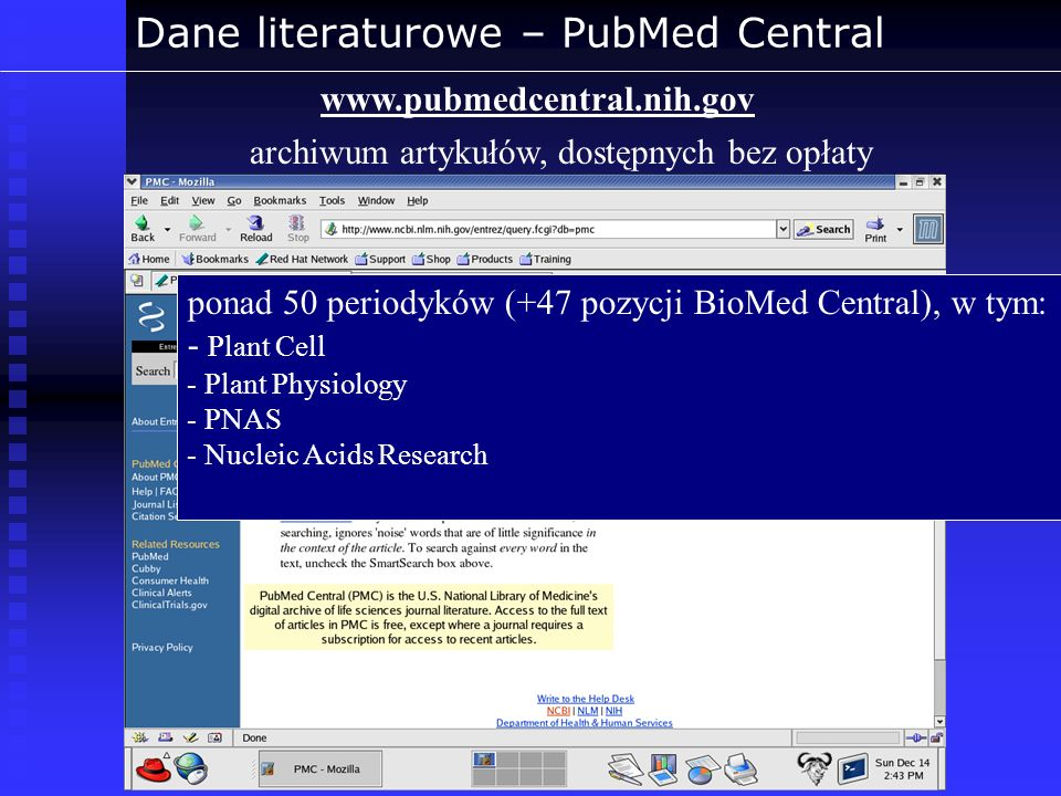 Dane literaturowe – PubMed Central
