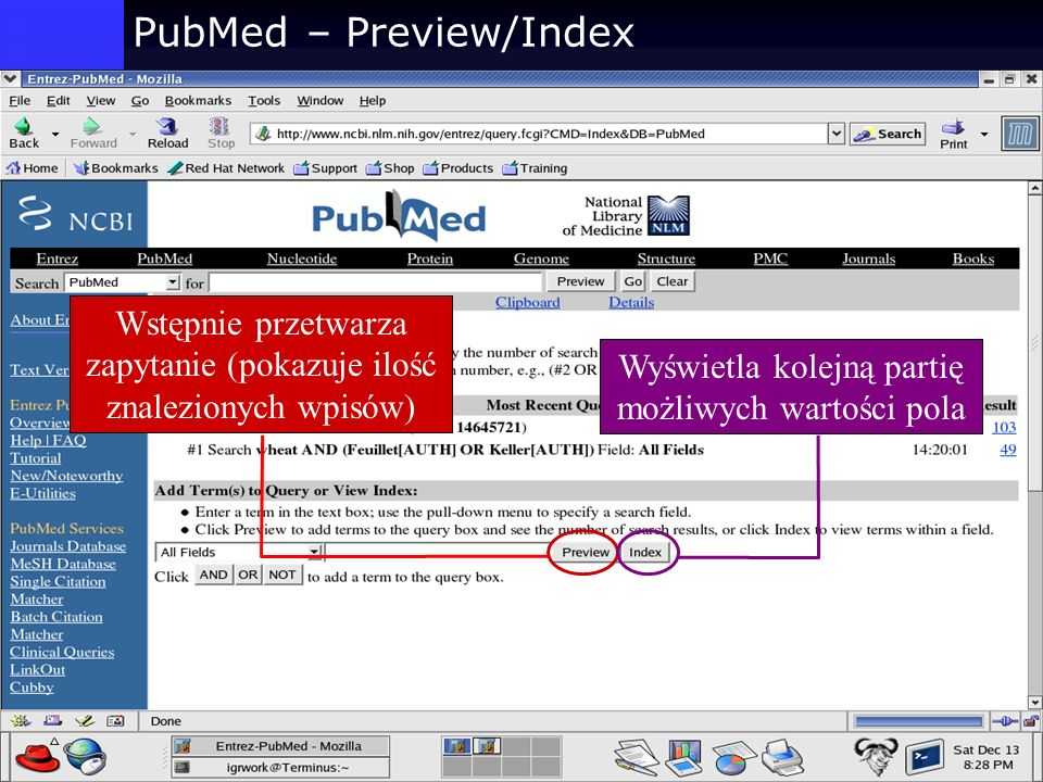 PubMed – Preview/Index