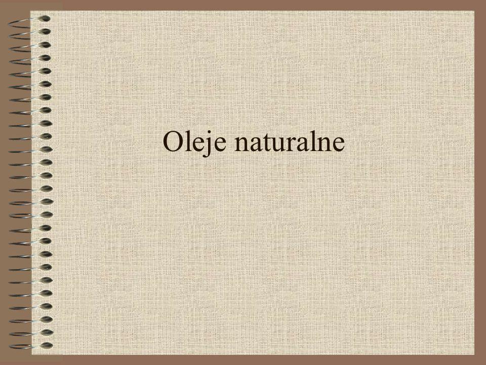 Oleje naturalne