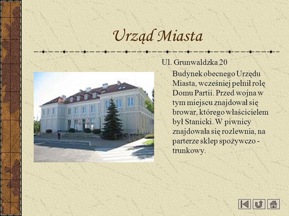 Urząd Miasta Ul. Grunwaldzka 20