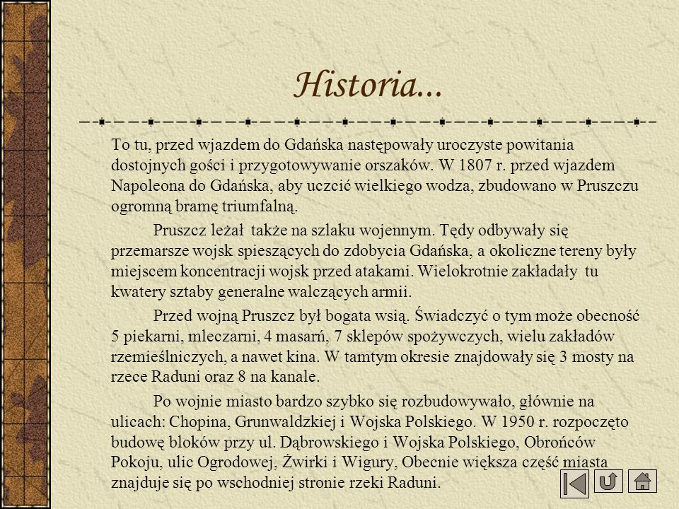 Historia...